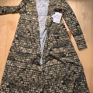 LulaRoe Long Cardigan size XS NWT